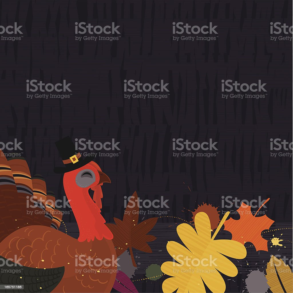 Turkey background royalty-free stock vector art
