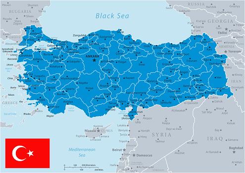 33 - Turkey - Blue Gray 10