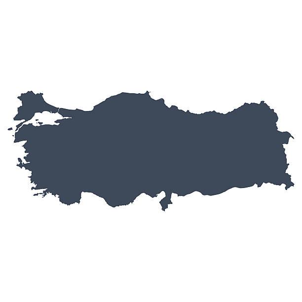 turcja kraju mapy - turcja stock illustrations