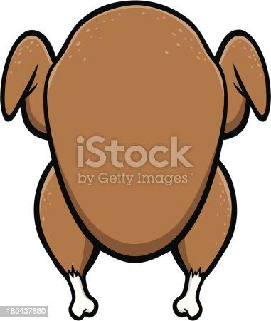istock Turkey Dinner 185437680
