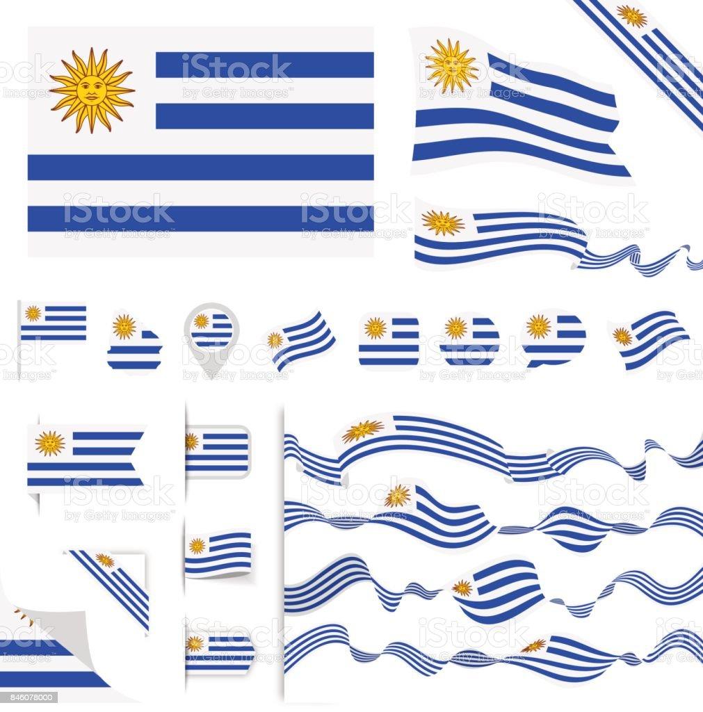 N0605 - Turkey - Flag Set vector art illustration