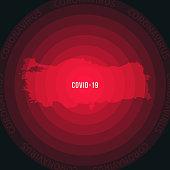 istock Turkey map with the spread of COVID-19. Coronavirus outbreak 1214574379