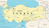 Turkey Political Map