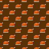 Turkey Seamless Pattern