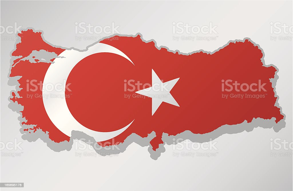Turkey royalty-free stock vector art