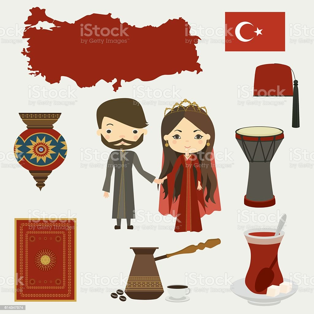 Turkish Culture Stock Illustration - Download Image Now - iStock