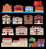 Vector Turkish House
