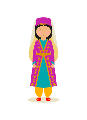 Turkish national costume for women