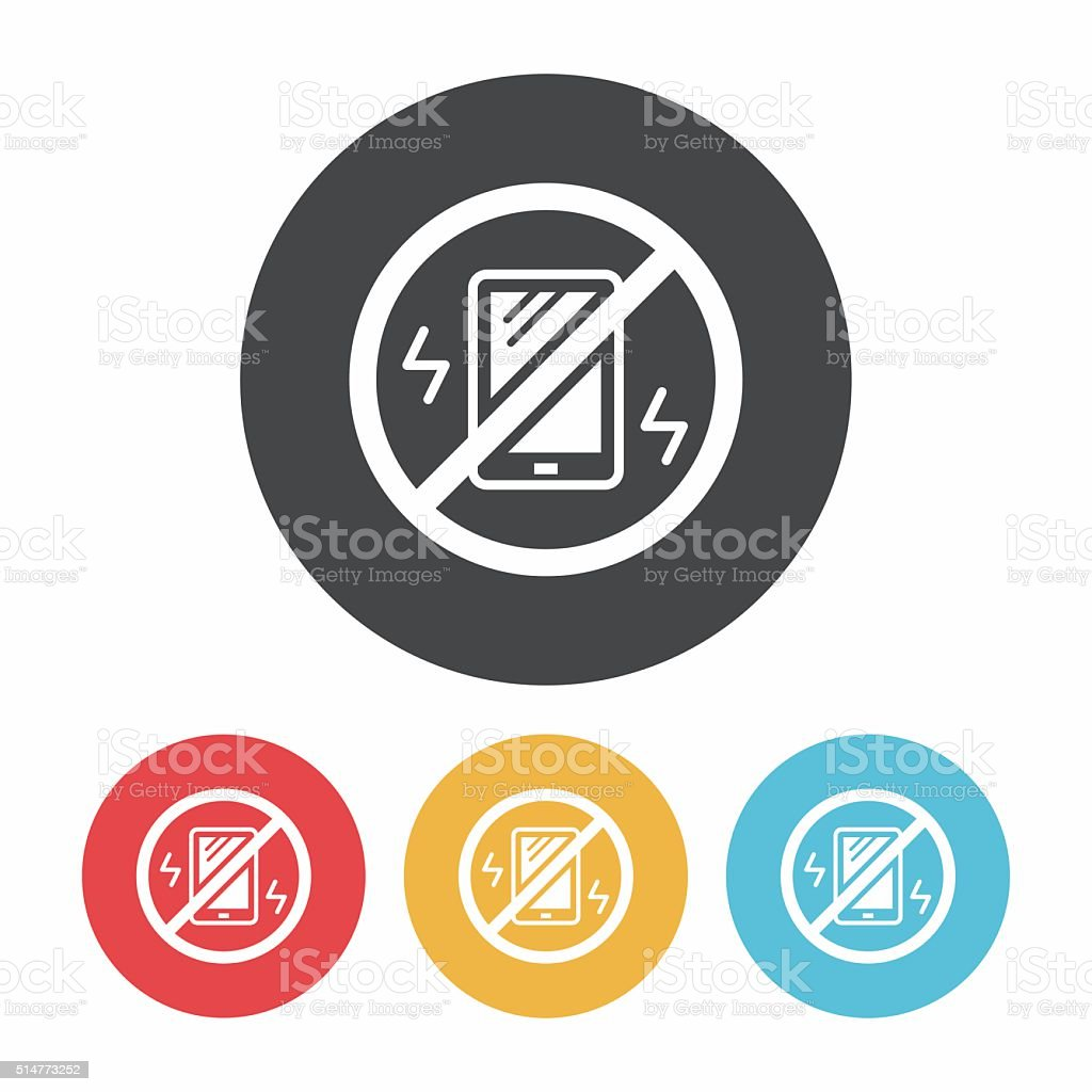 turn into vibration icon stock vector art more images of alertness