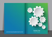 Turning Gears Cover design