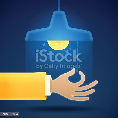 istock Turning On or Off a Light 505967634