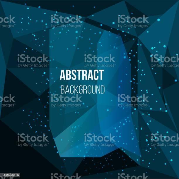 Turkusowe Abstrakcyjne Tło Tekstu - Stockowe grafiki wektorowe i więcej obrazów Abstrakcja