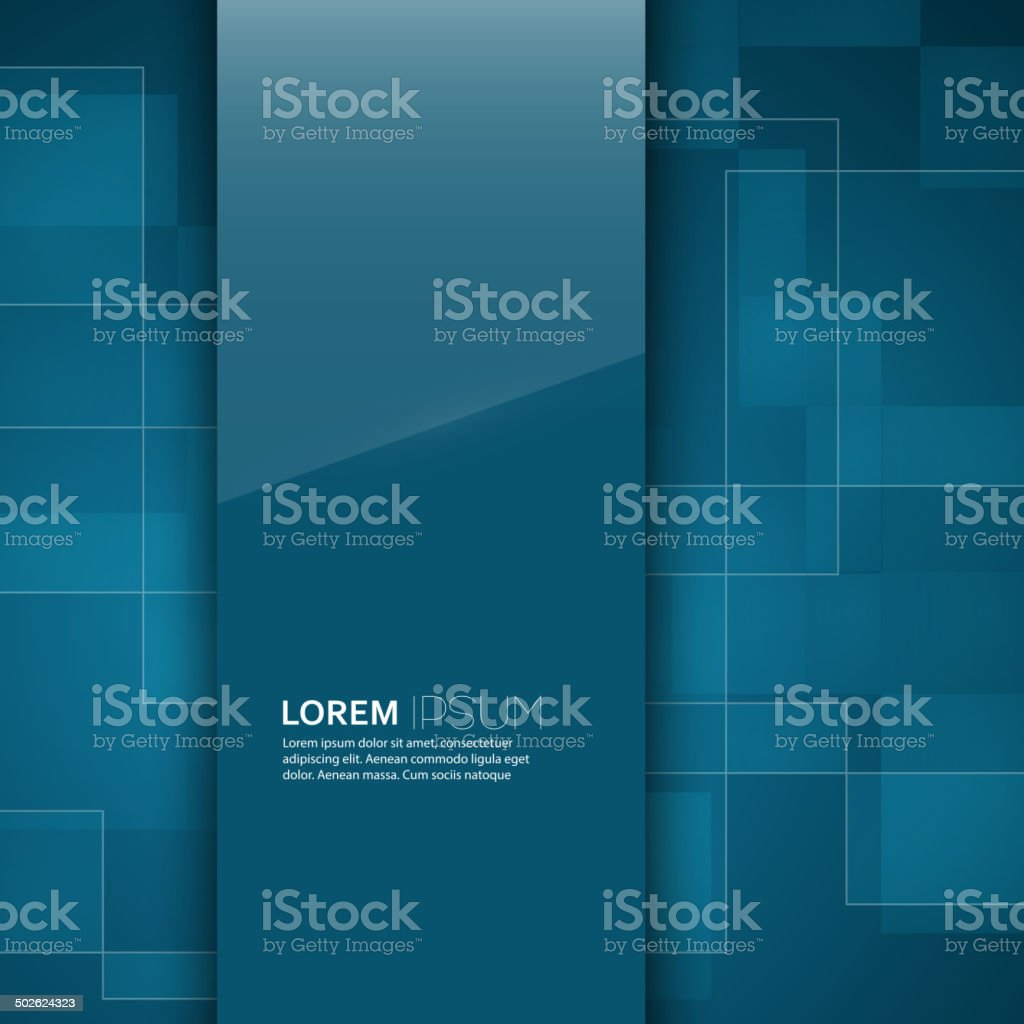 Turquoise brillante vide avec fond de texture - Illustration vectorielle