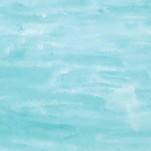 Fondo de acuarela turquesa de diseño. Ilustraciones vectoriales - ilustración de arte vectorial