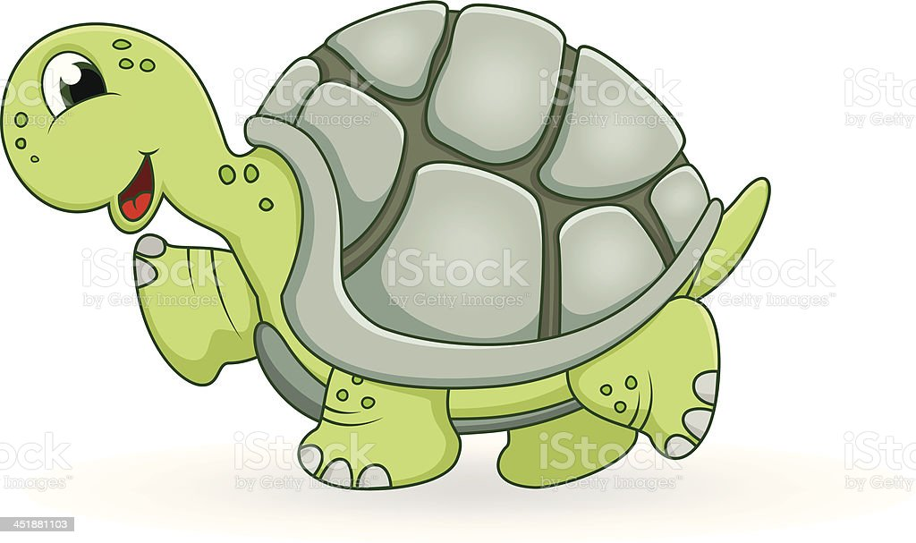 turtle cartoon royalty-free stock vector art