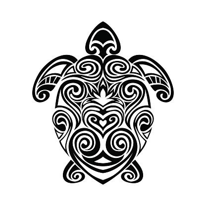 Vetores de Tartaruga Em Maori Estilo Tatuagem Ilustrações Vetorizadas e mais imagens de 2015 - iStock