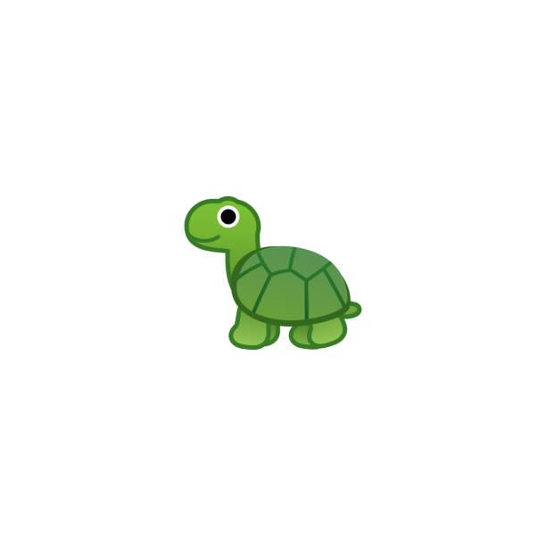 Turtle Isolated Realistic Vector Icon. Tortoise Cartoon Illustration Emoji, Emoticon, Sticker, Icon Turtle Isolated Realistic Vector Icon. Tortoise Cartoon Illustration Emoji, Emoticon, Sticker, Icon turtle stock illustrations