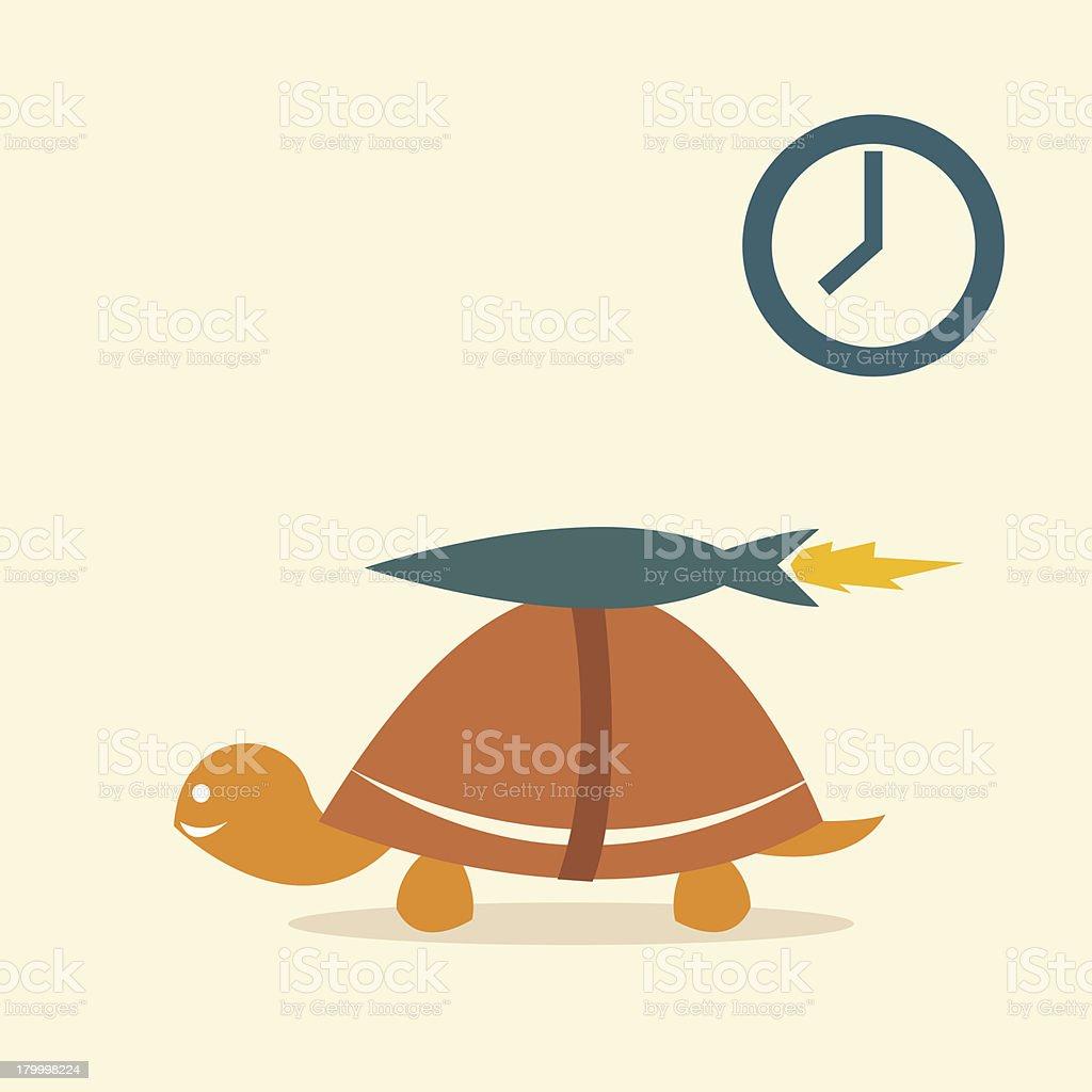 거북이 로켓 royalty-free 거북이 로켓 개선에 대한 스톡 벡터 아트 및 기타 이미지