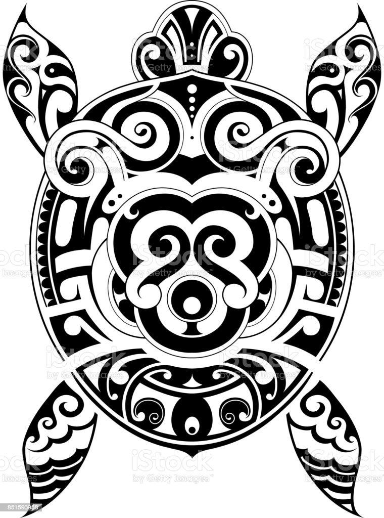 Schildpad Tattoo Vorm Stockvectorkunst En Meer Beelden Van