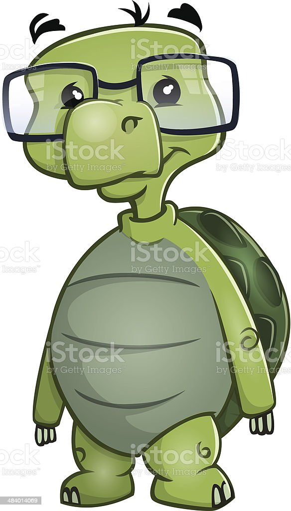 royalty free cartoon turtles with glasses clip art vector images rh istockphoto com Cartoon Turtle with Sun Glasses Franklin Turtle Cartoon with Glasses