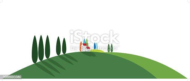 Tuscany Rural Landscape