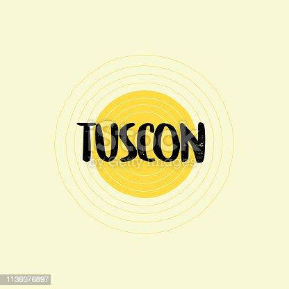 Tuscon Lettering Design