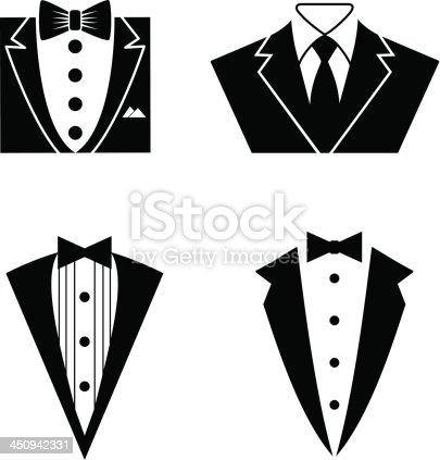 Tuxedo Icon Set