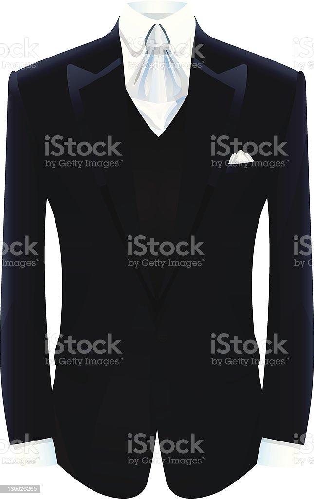 Tuxedo royalty-free stock vector art