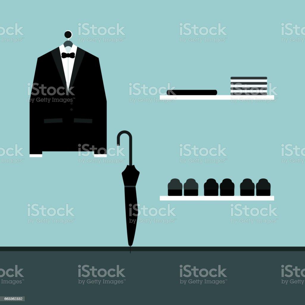 Tuxedo Vector illustration vector art illustration