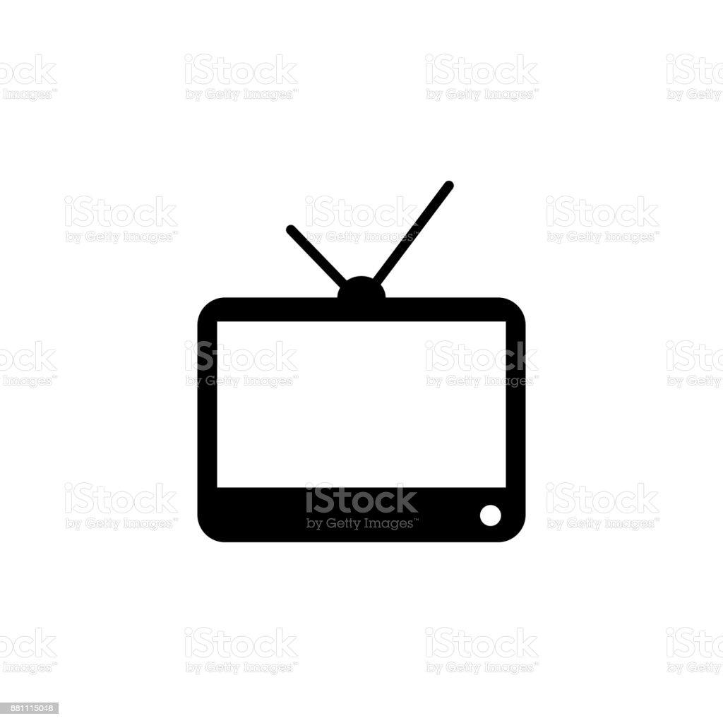 Tv Icon Media Element Icon Premium Quality Graphic Design Signs