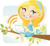 Tweety Girl