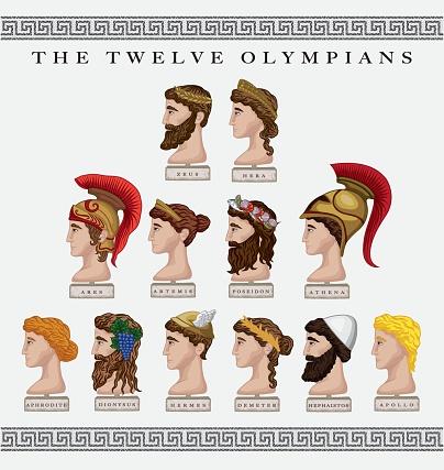 Twelve Olympians
