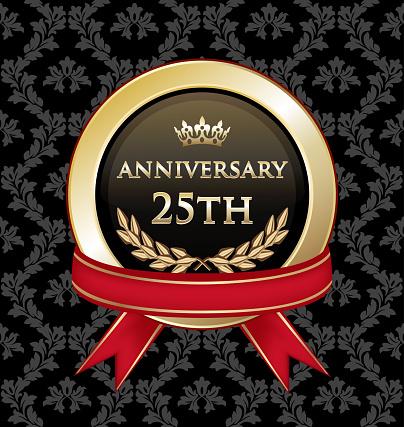 Twenty Fifth Anniversary Celebration Gold Award
