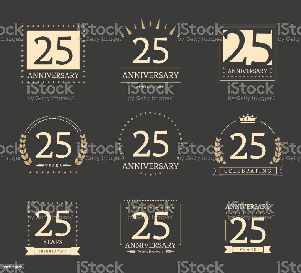 Twenty five years anniversary