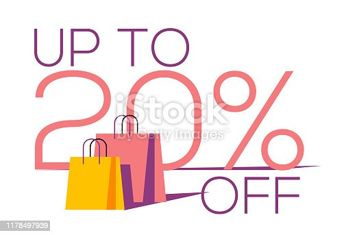 twenty percent Sale