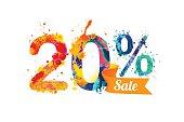 istock twenty (20) percents sale 598820096