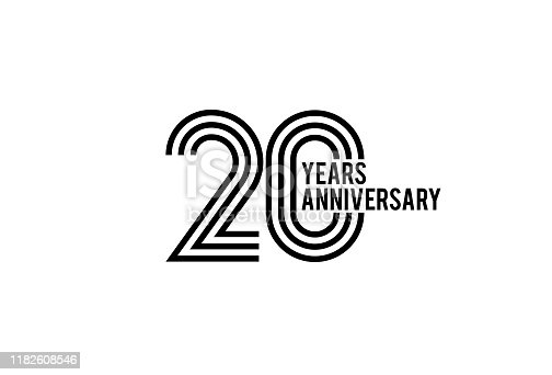 Twenty Year anniversary design