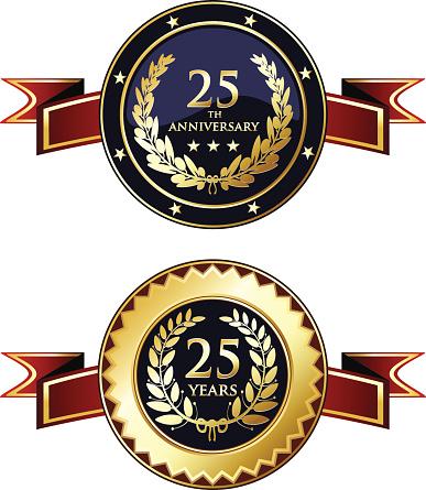 Twenty-fifth Anniversary Medals