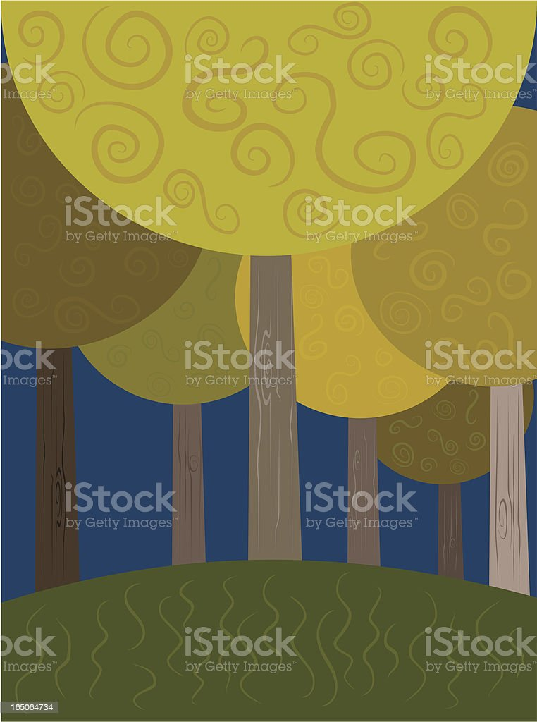 Twilight Forest royalty-free twilight forest stock vector art & more images of 2000-2009