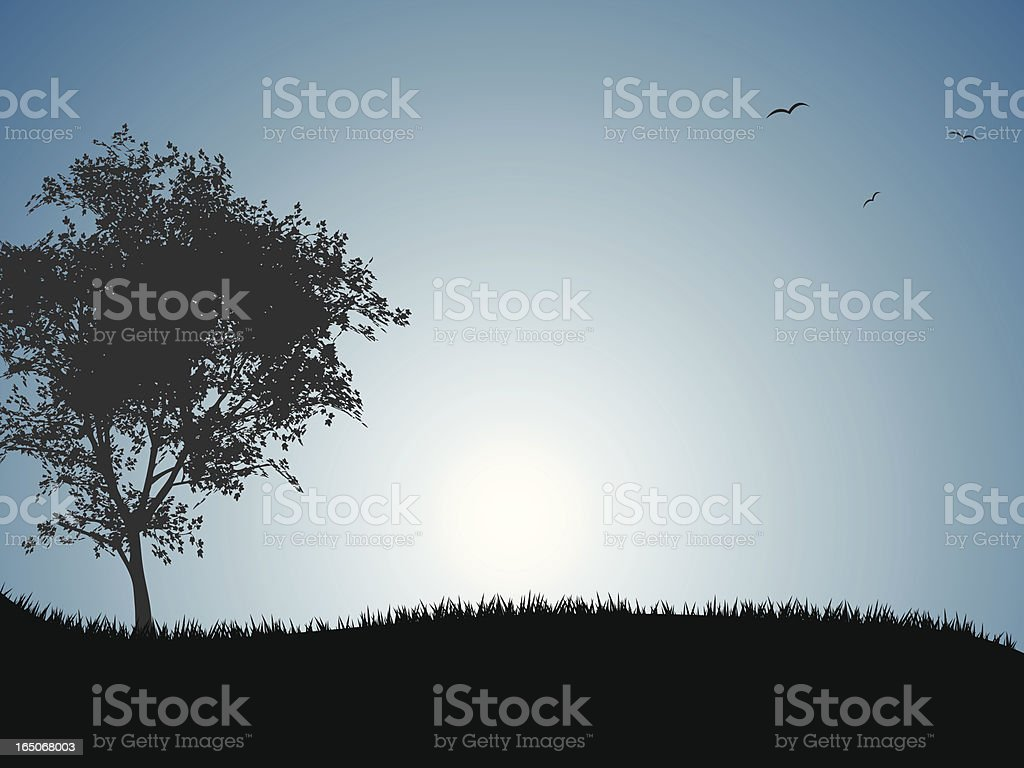 Twilight royalty-free stock vector art
