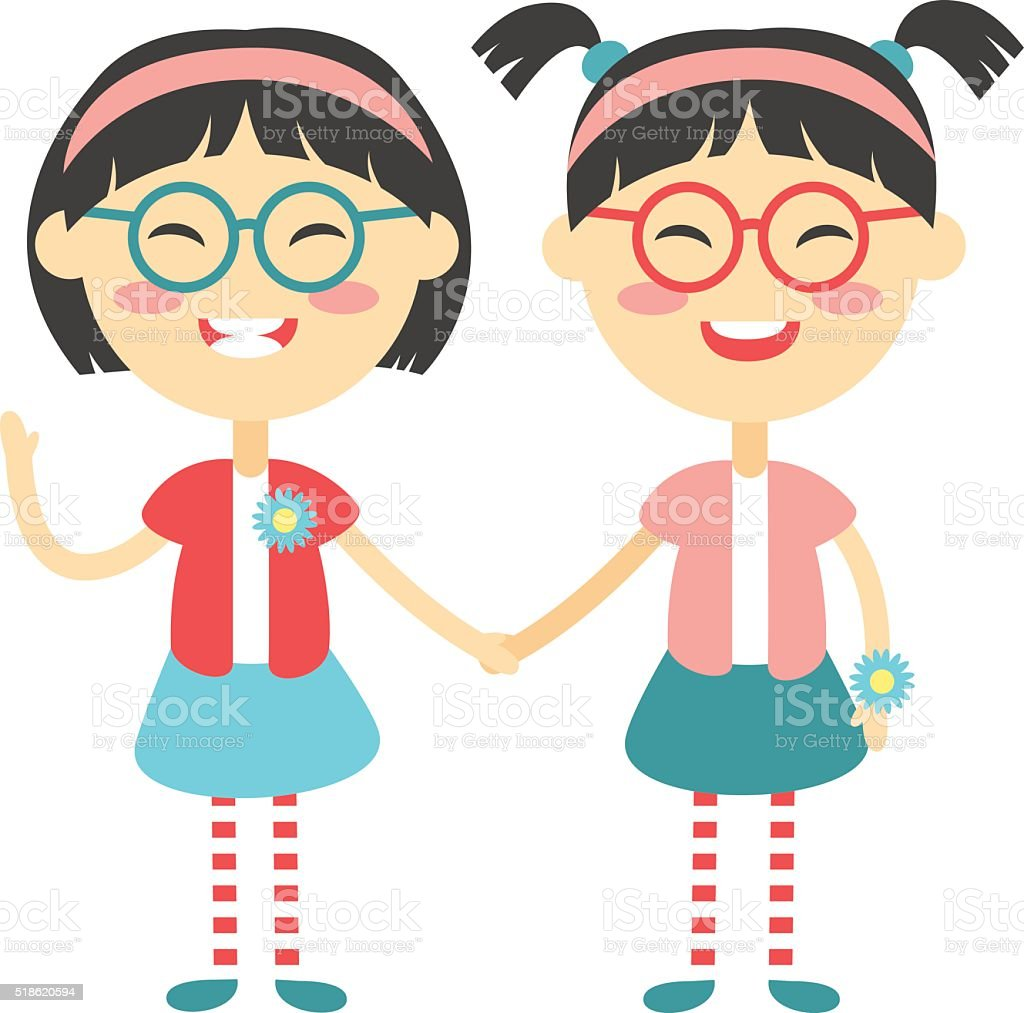 royalty free sisters clip art vector images illustrations istock rh istockphoto com sisters clip art free sisters clipart black and white