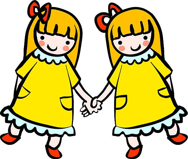 ilustrações, clipart, desenhos animados e ícones de camas de solteiro - irmã