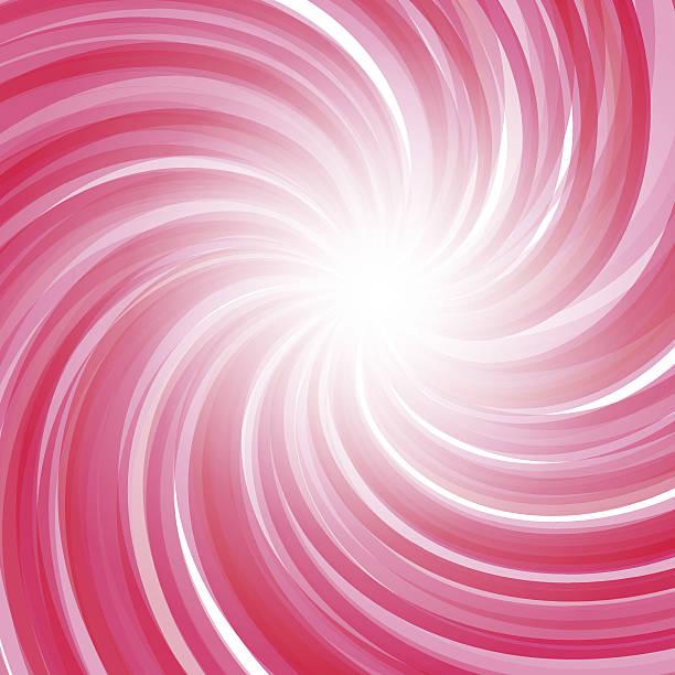 Twisted candy Hintergrund.  Erdbeer-Joghurt, peppermint candy, sweet Kulisse – Vektorgrafik