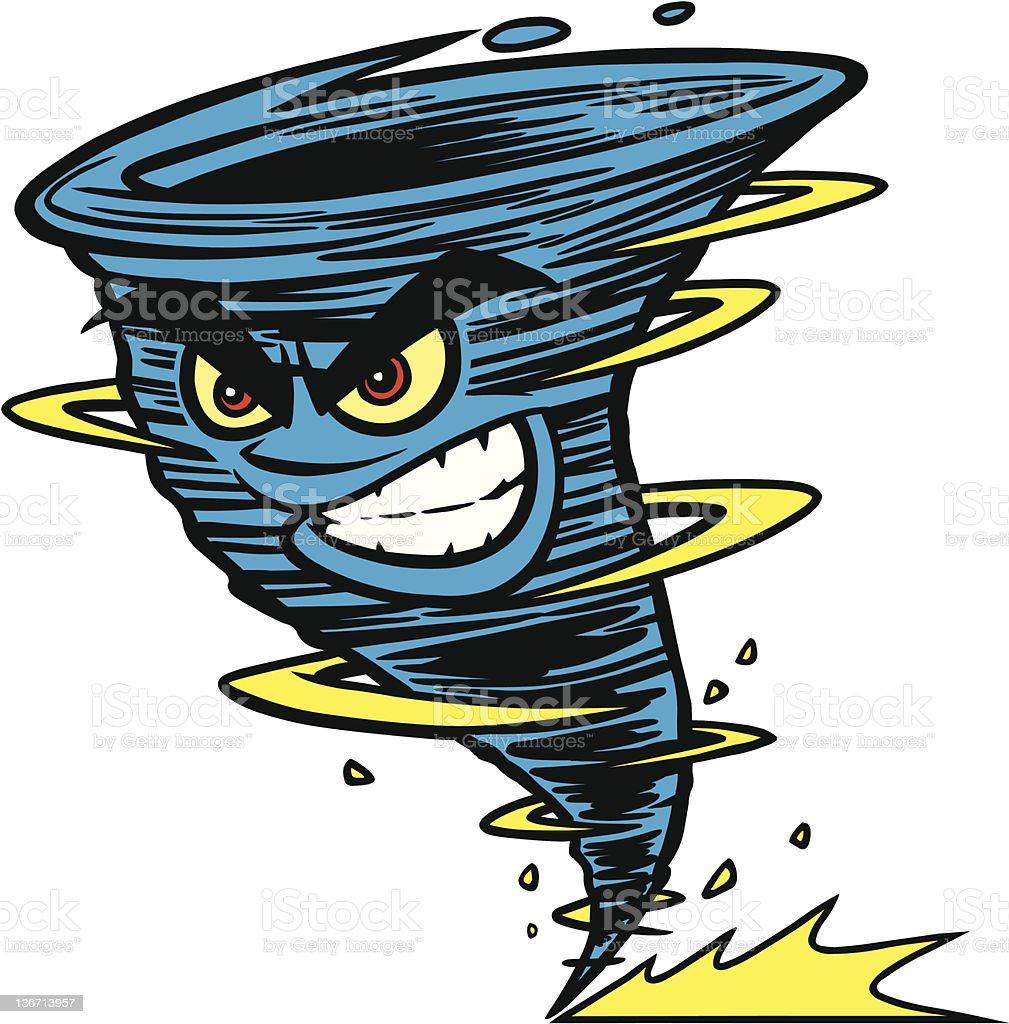 Twister Mascot royalty-free stock vector art