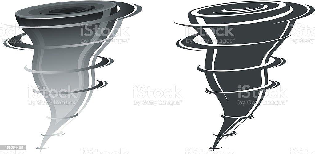 Twister royalty-free stock vector art