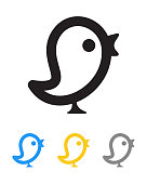 Twit bird icon