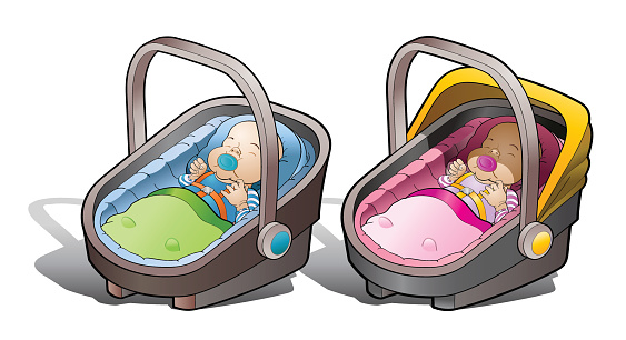 Two baby car seat