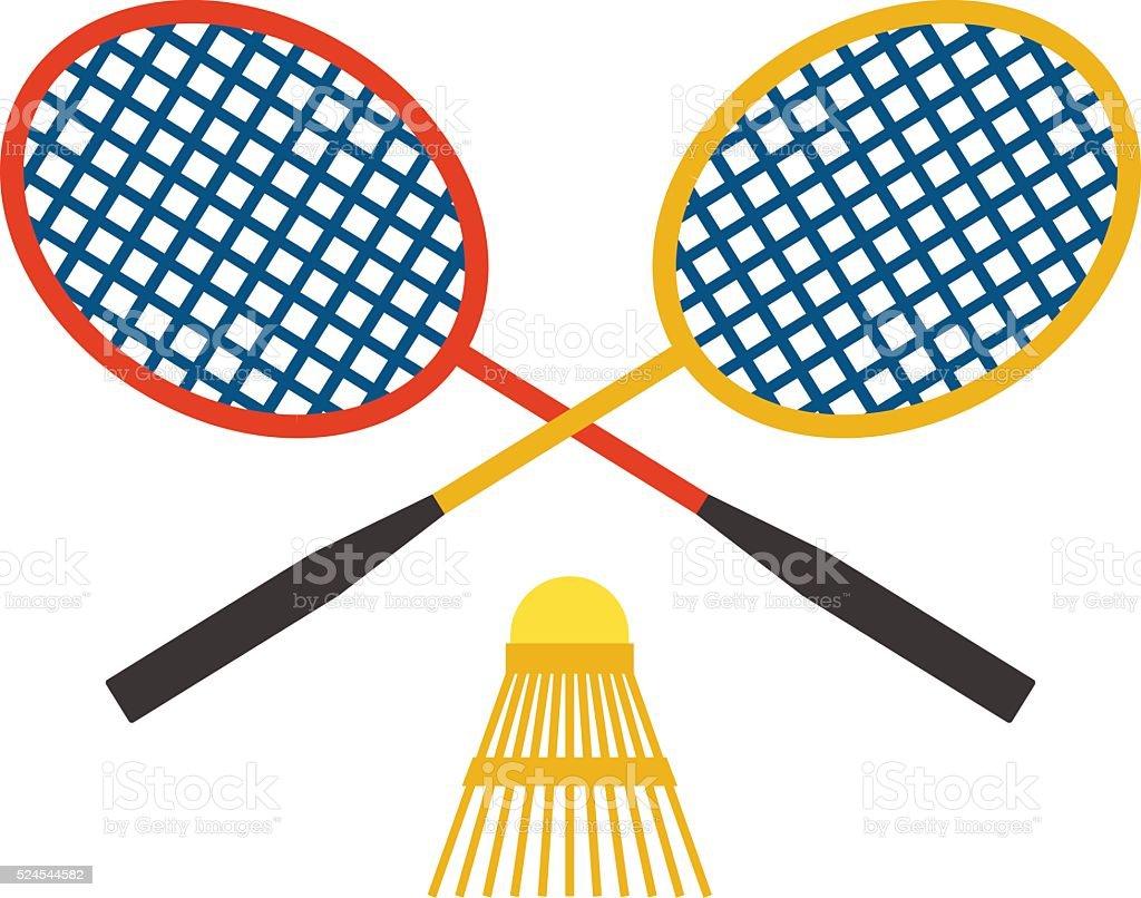 royalty free badminton sport clip art vector images illustrations rh istockphoto com badminton clipart cute badminton clipart black and white