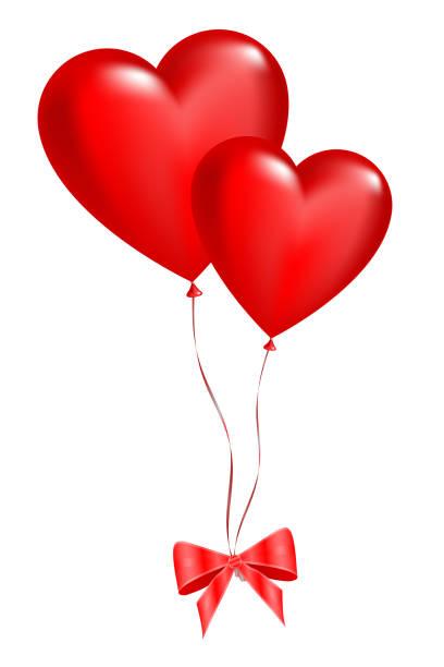Best Heart Balloon Illustrations, Royalty-Free Vector ...