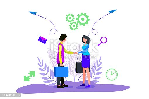 istock two business people shaking hands 1203503116